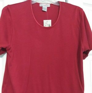 Beautiful red ladies top